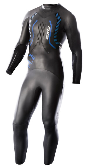 2XU A:1 Active Wetsuit Men black/cobalt blue